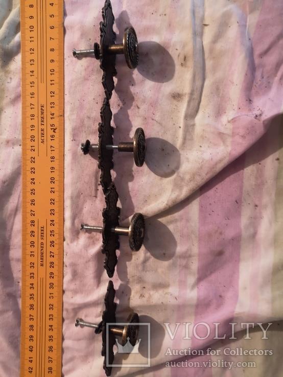 Ручки дверные мебельные фурнитура, фото №3