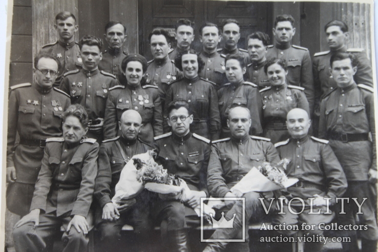 Фото группа терапевтов Рига 1946 год, фото №3