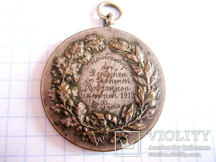 Медаль за спуск на санчатах, фото №2