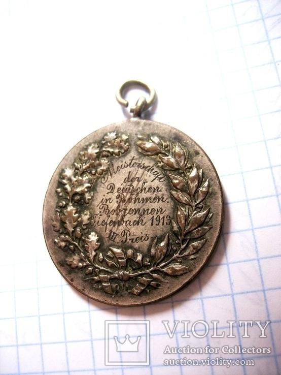 Медаль за спуск на санчатах, фото №8