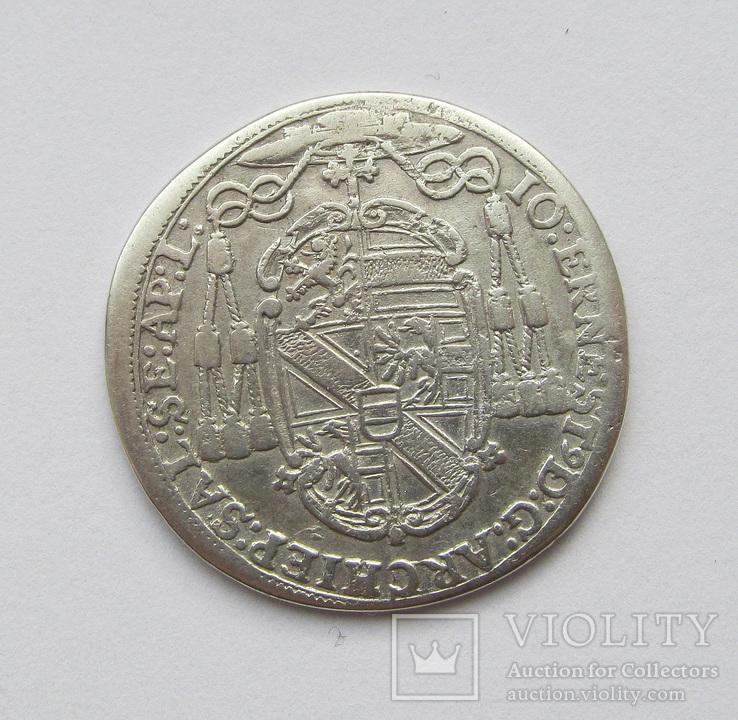 15 крейцеров 1689 Зальцбург Архиепископ Иоганн Эрнст фон Тун