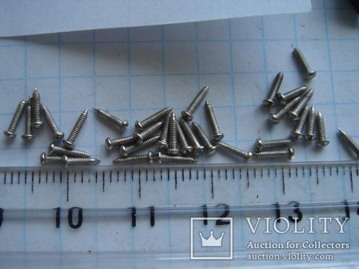 Болтик 35 шт. Диаметр 1.0 мм. длина 5.7 мм., фото №3