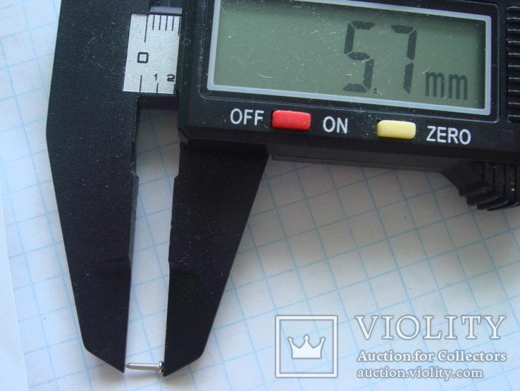 Болтик 35 шт. Диаметр 1.0 мм. длина 5.7 мм., фото №4