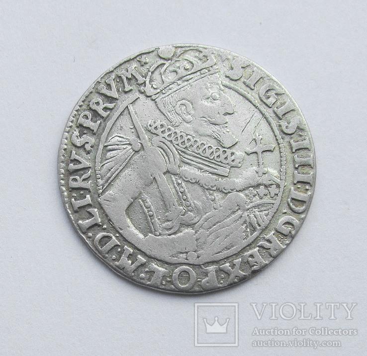Орт 1623 г коронный, Сигизмунд III , г Быдгощь