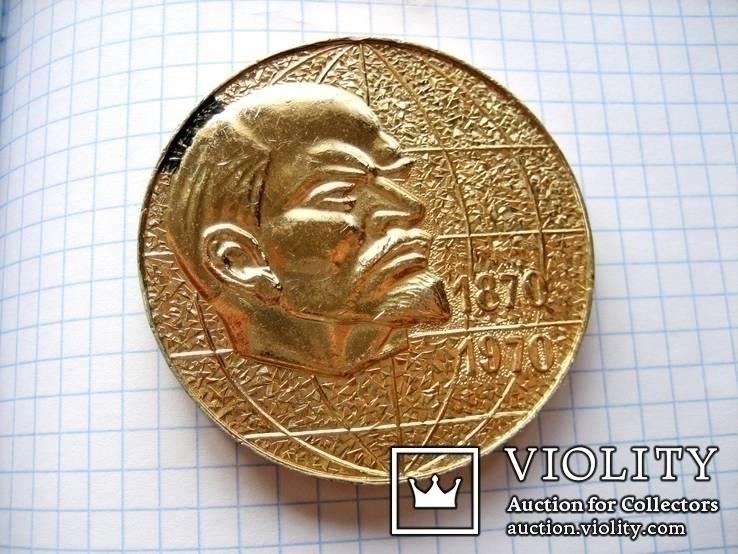 Настільна медаль з леніним, фото №4