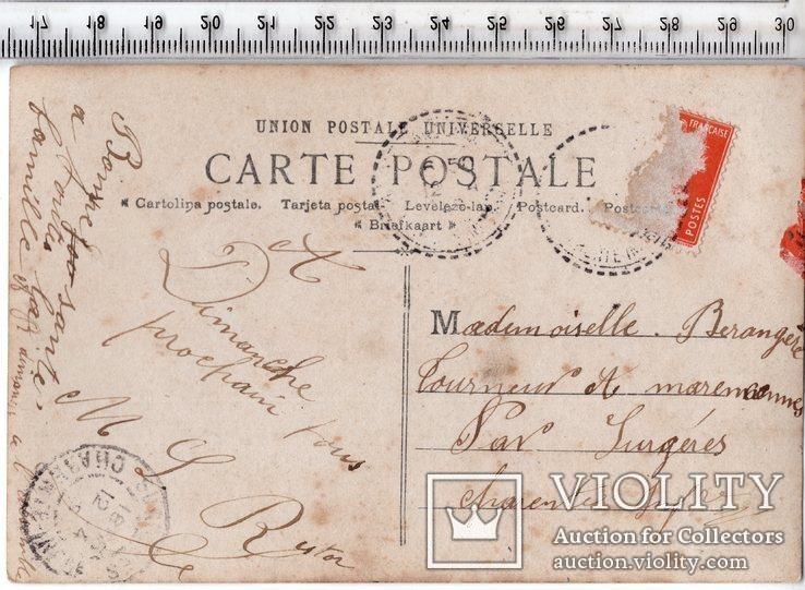 Старинная открытка. До 1945 годa. Дети. (3), фото №3