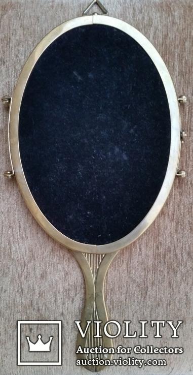Дзеркало-трильяж настінне, ручне, фото №8