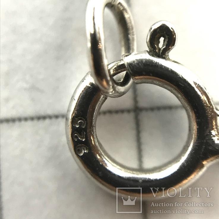 Подвес серебро на цепочке, фото №9