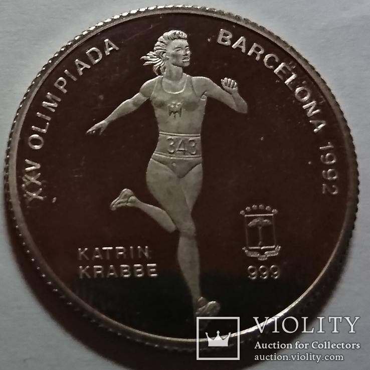 Гвинея Олимпиада 1992, фото №5