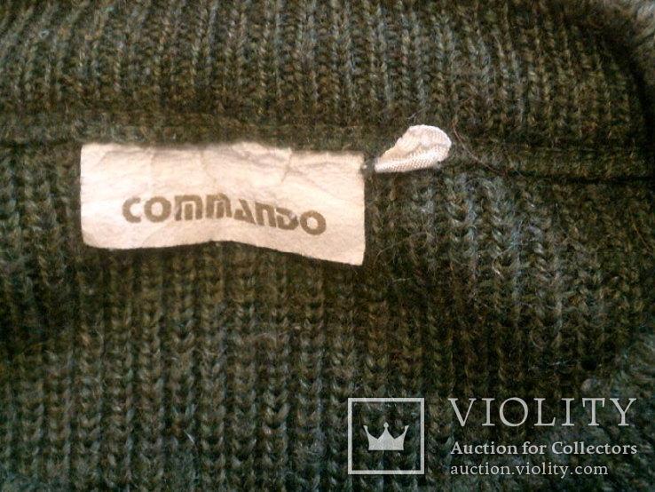 Commando свитер + берет зеленый, фото №11