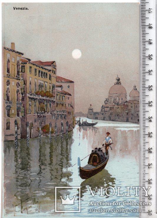 Открытка. Венеция. №4 (3), фото №2
