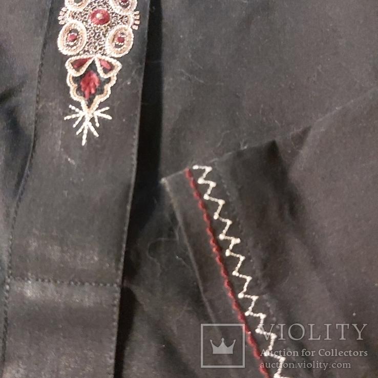 Восточная мужская рубашка с вышивкой, фото №3