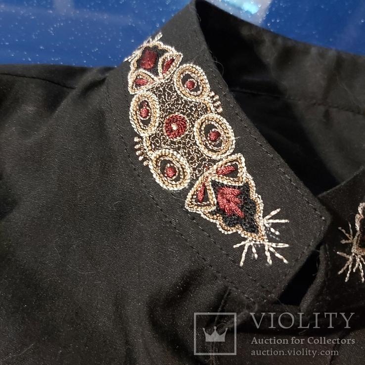Восточная мужская рубашка с вышивкой, фото №6