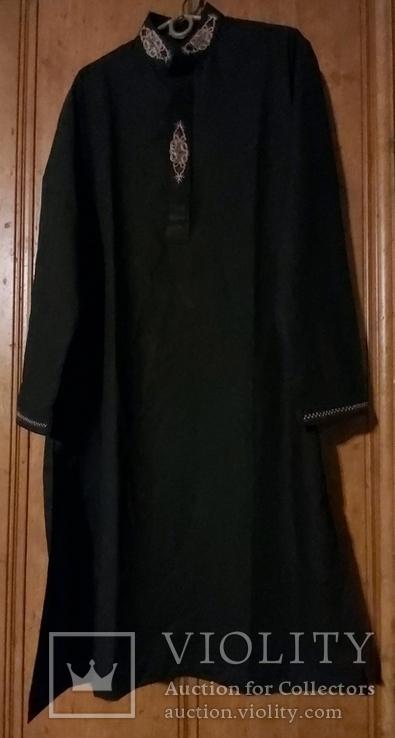Восточная мужская рубашка с вышивкой, фото №9
