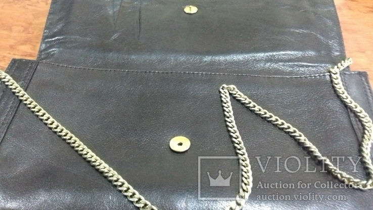 Кожаная женская сумочка, фото №3