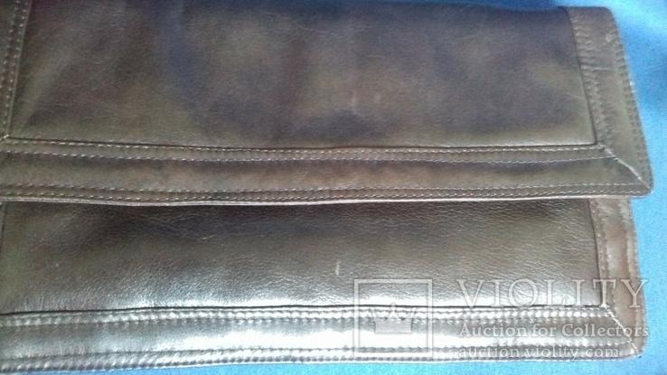 Кожаная женская сумочка, фото №4