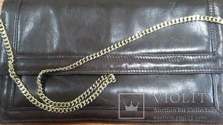 Кожаная женская сумочка, фото №8