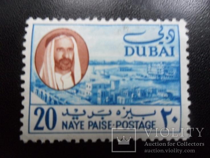 Британские колонии. Дубаи. Шейх.  MLH, фото №2