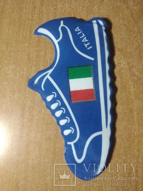 Футбольный сувенир на присоске №2 Италия, фото №4