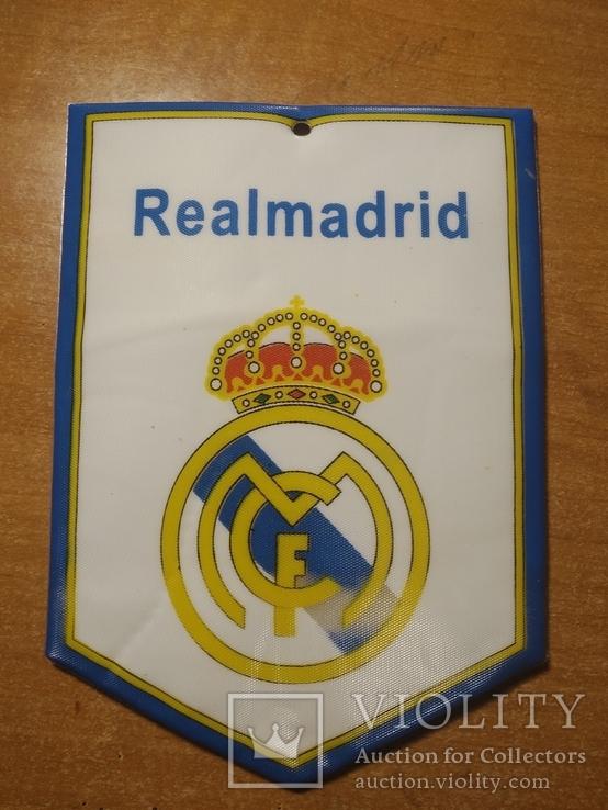 Футбольный сувенир - флажок на присоске №4 Мадрид, фото №2