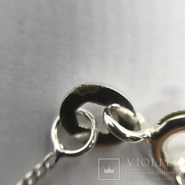 Подвес серебро на цепочке, фото №10