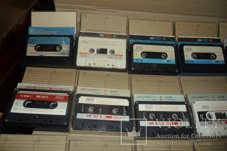 Аудиокассета кассета - 24 шт в лоте МК 90 60, фото №3