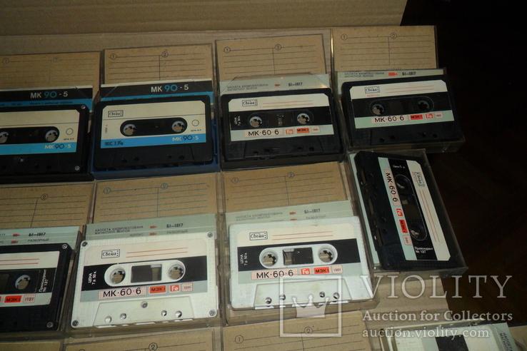 Аудиокассета кассета - 24 шт в лоте МК 90 60, фото №4