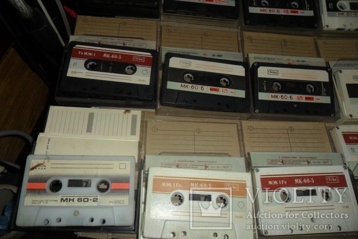 Аудиокассета кассета - 24 шт в лоте МК 90 60, фото №5