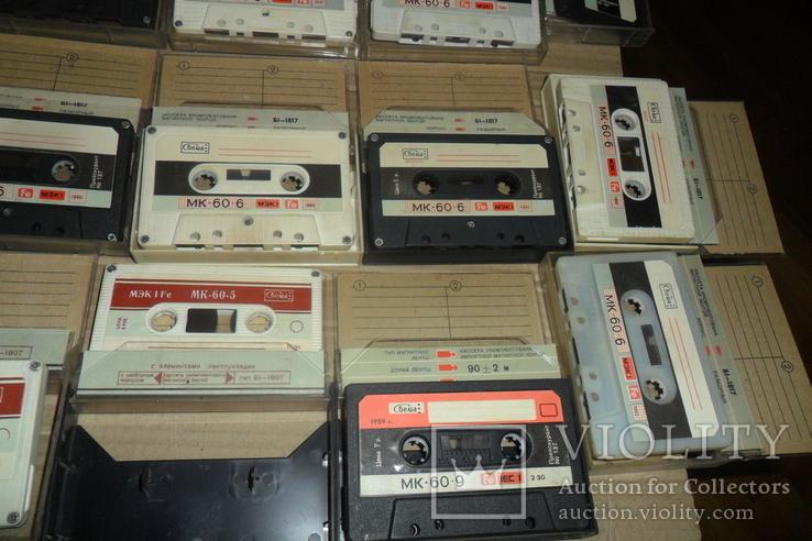 Аудиокассета кассета - 24 шт в лоте МК 90 60, фото №6