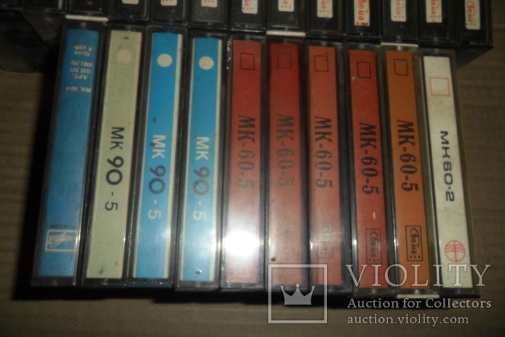 Аудиокассета кассета - 24 шт в лоте МК 90 60, фото №10