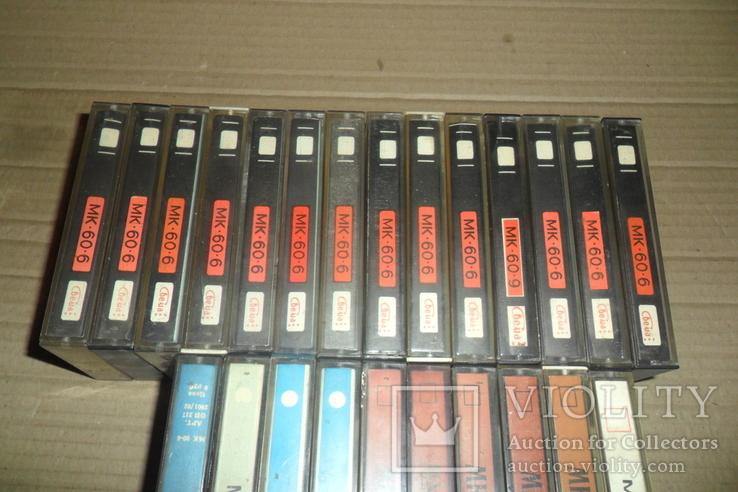 Аудиокассета кассета - 24 шт в лоте МК 90 60, фото №11