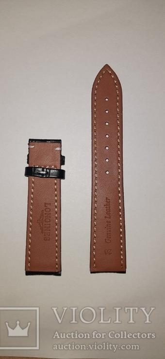 Новый ремешок для часов Longines, 20 мм, фото №3