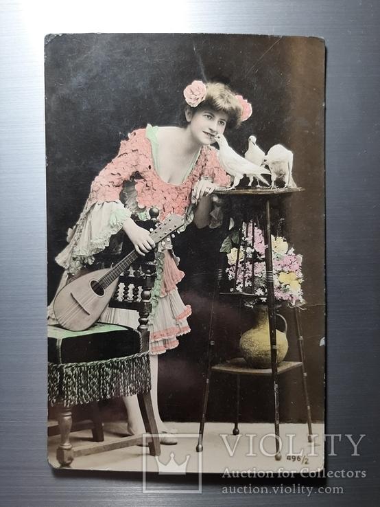 Музыканша и голуби, фото №2