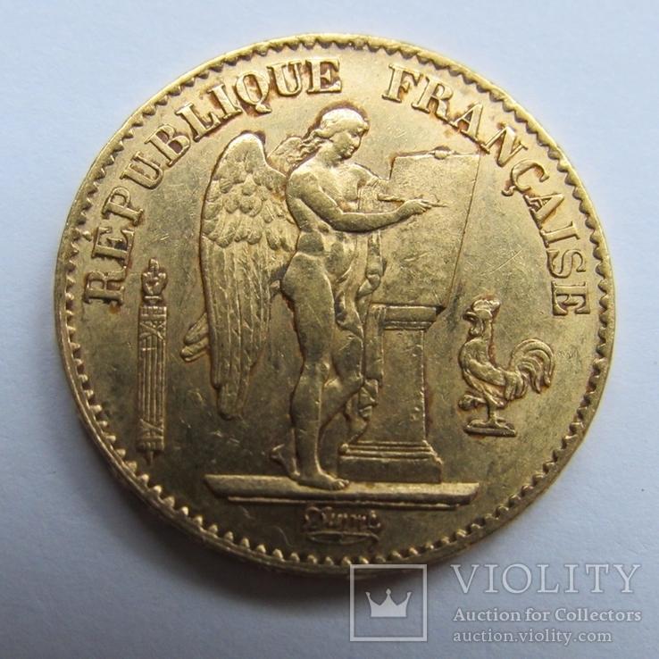 20 франков 1875 г. Франция, фото №4