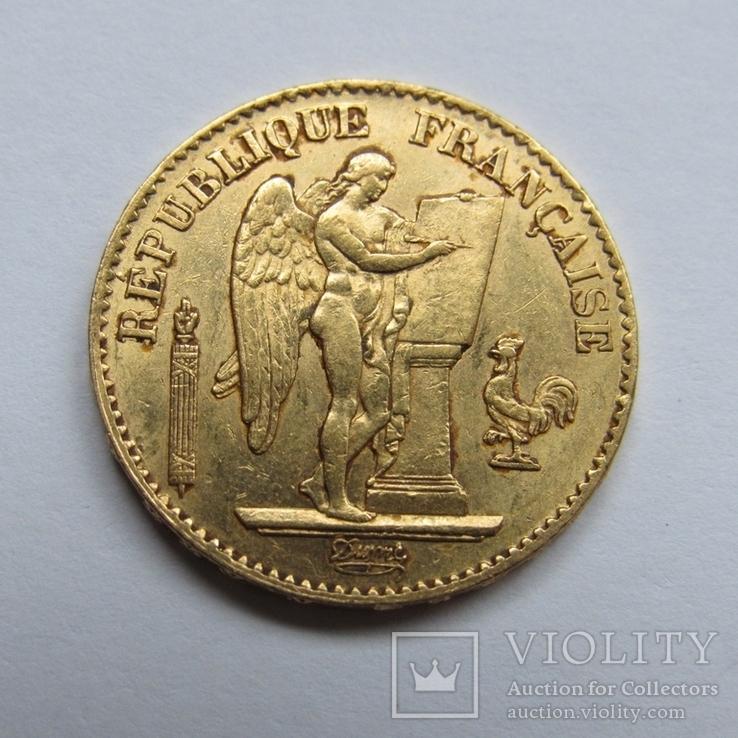 20 франков 1875 г. Франция, фото №8