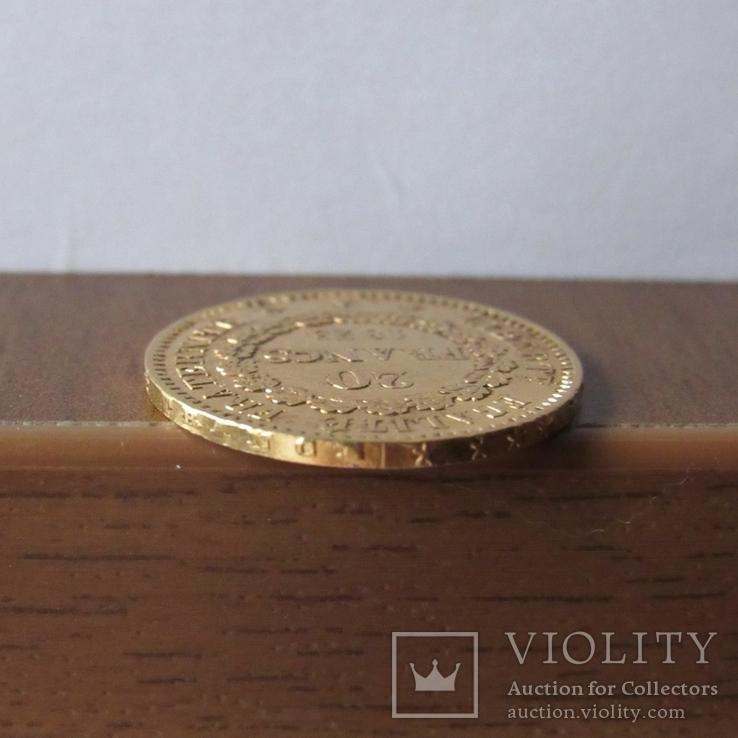 20 франков 1875 г. Франция, фото №10
