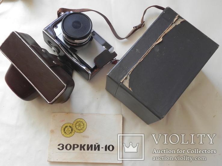 Зоркий 10 в коробке с инструкцией, фото №10