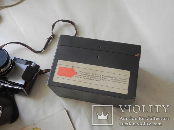 Зоркий 10 в коробке с инструкцией, фото №11