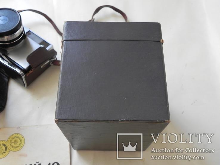 Зоркий 10 в коробке с инструкцией, фото №12