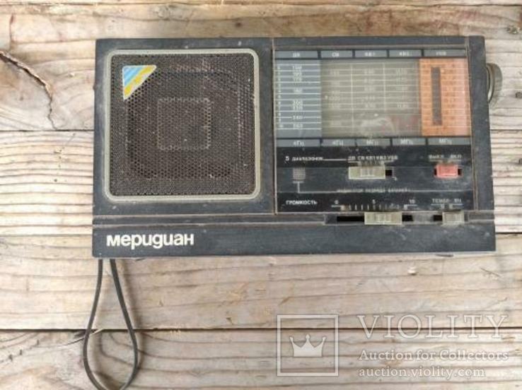 Радиоприемник Меридиан РП-248, фото №2