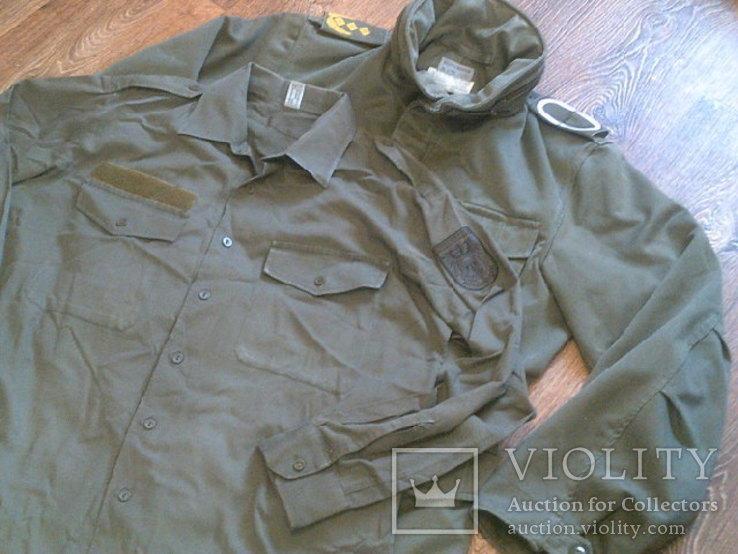 Osterreich Bundesher куртка + рубашка, фото №6
