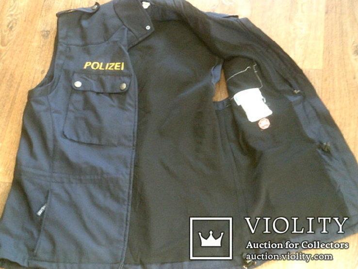 Жилетка Polizei +Justizwache рубашка (большой размер), фото №8
