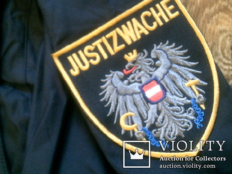 Жилетка Polizei +Justizwache рубашка (большой размер), фото №11
