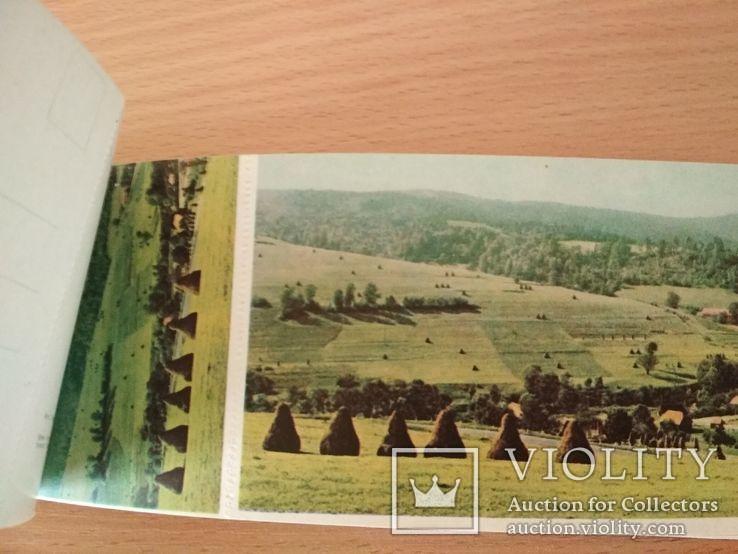 Набор открыток Живописное Прикарпатье 1967г., фото №12