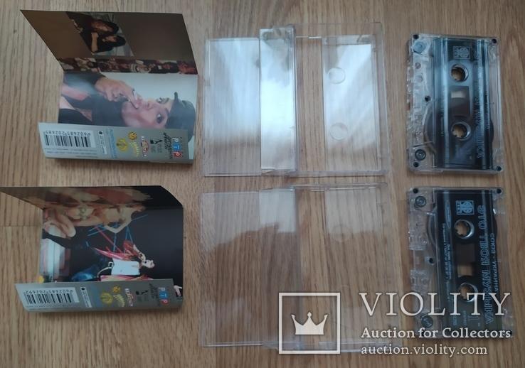 Студийные аудиокассеты (блок) с записями Филиппа Киркорова, фото №6