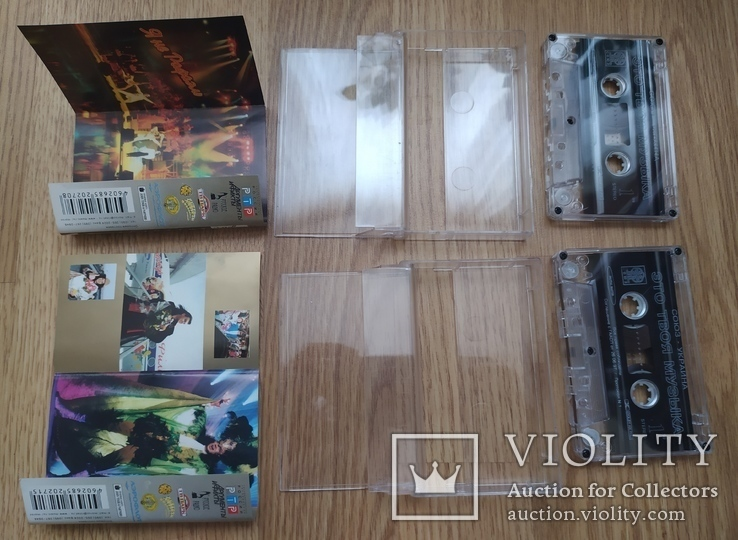 Студийные аудиокассеты (блок) с записями Филиппа Киркорова, фото №8