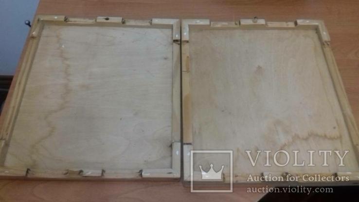 Советский деревянный короб для заморозки   вареников, фото №3