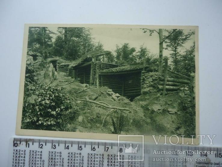 Карпаты 1915 г военные позиции, фото №2