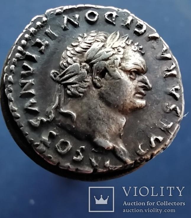 Денарии император Доминициан.68-81 г.н.э., фото №6