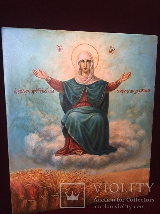 Икона Спорительница Хлебов, фото №3